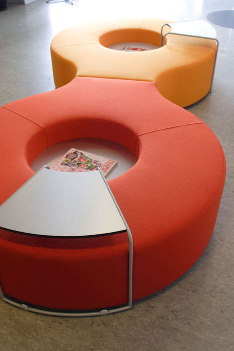 Table-Toting Furniture - The Nurus Connect Sofa Comes with an Attached Stand