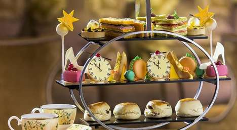 Fairytale Tea Services - Chinoiserie's Cinderella Afternoon Tea Features Pumpkin Carriage Treats