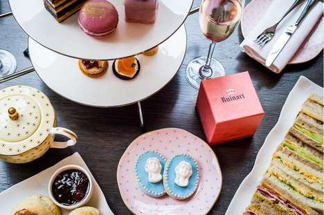 12 Luxe Tea Services - From Fairtyale Tea Ceremonies to Upscale Dessert Tastings
