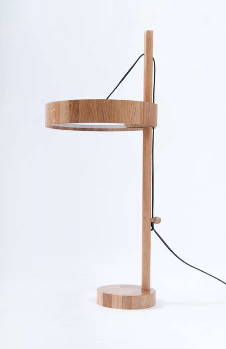 Sailing Ship-Inspired Lamps - Roman Shpelyk Designs a Romantically Minimalist Light Fixture
