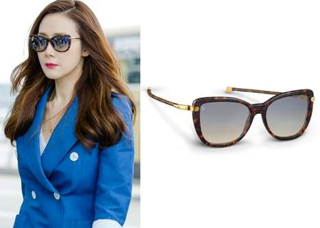 Folding Travel Sunglasses - Louis Vuitton Unveiled its 'Charlotte' Chic Shades for Summer Travelers