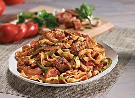 Jambalaya Pasta Dishes - This Southern-Inspired Pasta is a Menu Item at Bertucci's