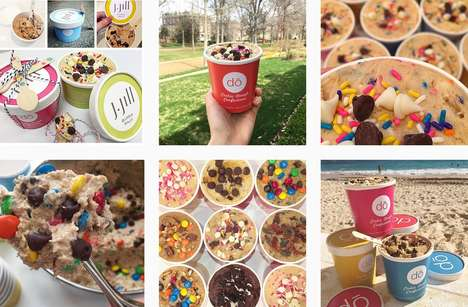 Raw Cookie Dough Confections - This New York Bakery is Now Producing Tubs of Edible Cookie Dough