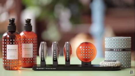 Couture Hotel Toiletries - 'Moooi' Launched a Collection of Haute Hotel Soaps and Shampoos