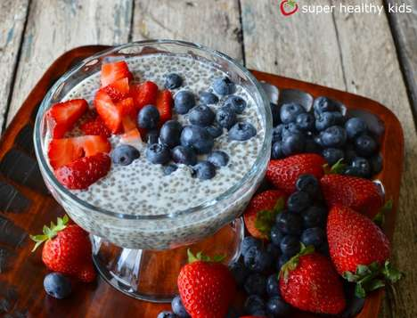Alternative Children's Desserts - The Super Healthy Kids Chia Seed Champion Pudding is Nutritious