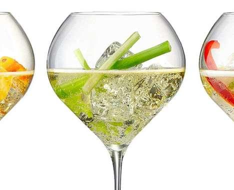 Champagne Mixology Aids