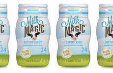 Cotton Candy-Flavored Milks - These Healthy Milk Beverages Come in an Unexpected Flavor