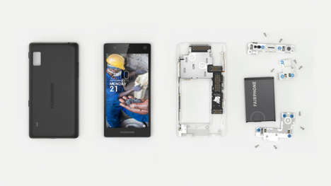 Eco-Friendly Modular Phones - This Sustainable Smartphone is Made From Ethically Sourced Materials