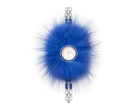 Fur Collar Watches - Fendi Recently Released This Unexpected Fantasy-Inspired Fur Watch Collection