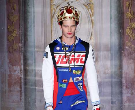 Flamboyant Regal Menswear