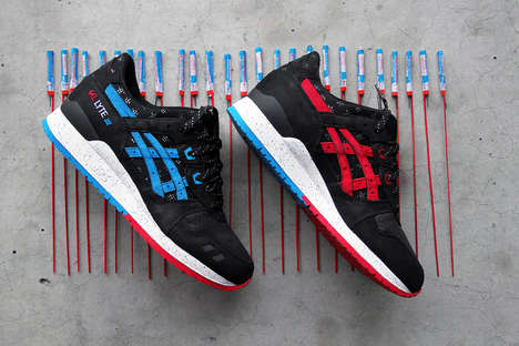 Bottle Rocket-inspired Kicks - This Patriotic Pair of ASICS Gel-Lyte III's Are a Collaboration