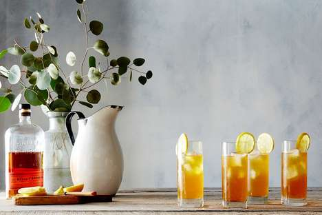 Summery Tea Cocktails - The Alcoholic Arnold Palmer Drink Mixes Black Tea with Bourbon and Citrus