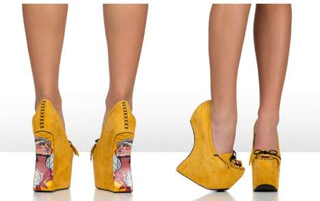 No-Heel Nomad Pumps - These Heelless Pumps Portray a Funky Bohemian Aesthetic