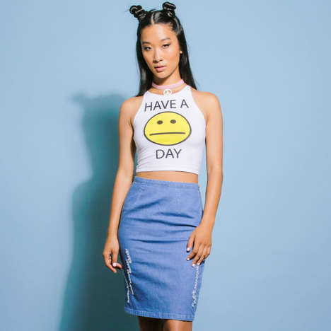 Ambivalent Youth Tanks - This Tank Top Encourages Others to Have a Meh Day