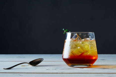 Tea Thyme Sodas - This Refreshing Ice Tea Recipe Can Also Be Used in an Extremely Easy Cocktail