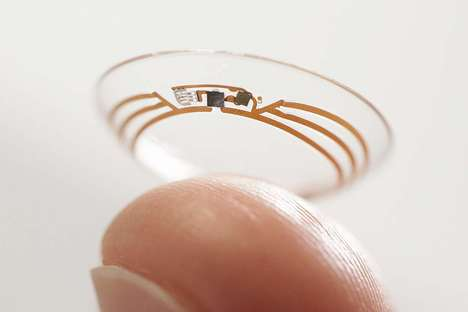 Diabetes-Tracking Lenses - The new Google patent for contact lenses will target diabetics