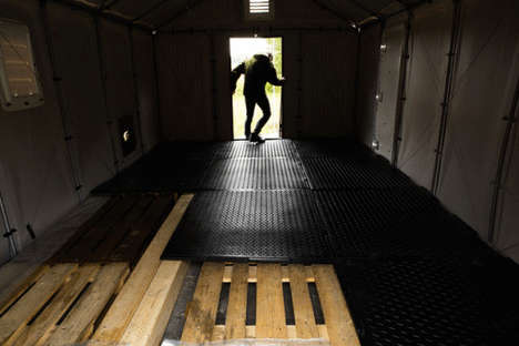 Post-Disaster Flooring - These Emergency Floor Mats Help Families Affected by Natural Disasters