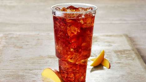 Exotic Tea Beverages - Panera Bread's Mango Iced Tea Keeps Patrons Cool in Summer Months