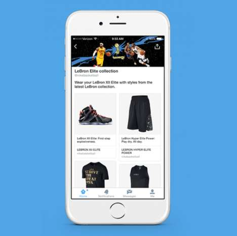 Social Media E-Commerce Platforms - Shopping Twitter is Now Possible Through Purchase Buttons