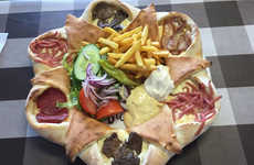 Swedish Super Pizzas - The Volcano Pizza by Chef Halmat Givra is an Impressive Platter of Flavor