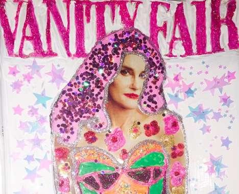 Bedazzled Transgender Artwork