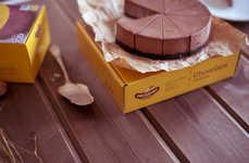 Americana Cheesecake Branding - This Russian Dessert Brand Features New York-Inspired Packaging