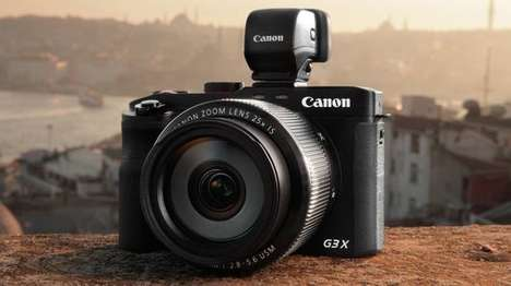 Lengthy Zoom Cameras - The Canon PowerShot G3 X Offers Some Serious Zoom Potential