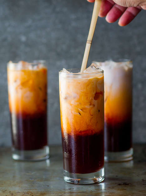 Thai Iced Teas - White on Rice Couple's Iced Tea Blend References Asian Cuisine