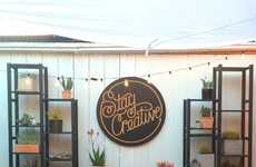 Creative Lettering Shops - 5 POINTS' Shop Appeals to Creative Millennials with Interactive Stations