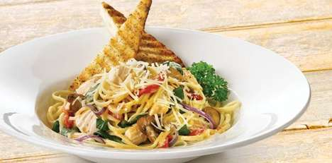 Spiced Chipotle Pastas - Swiss Chalet's Chipotle Chicken Linguini is Infused With Garlic Cream Sauce