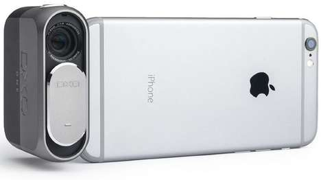 Smartphone-Paired Cameras - The DxO One Works With Your iPhone to Take DSLR-Quality Photos