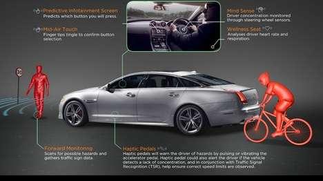 Brainwave-Monitoring Cars - Jaguar's Mind Sense Project Focuses on Brain-Monitoring Technologies