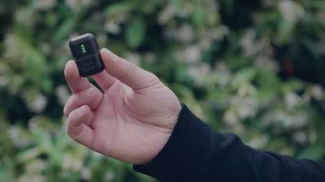 Miniature Audio Recorders - The Instamic is a Miniscule Self-Contained Audio Recorder