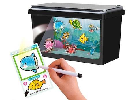 Digital Aquarium Toys - The Picturerium Lets Kids Create and Care for Imaginary Fish