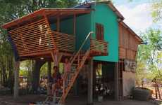 Inexpensive Bamboo Homes - The Framework House is Targeted Towards Low-Income Cambodians