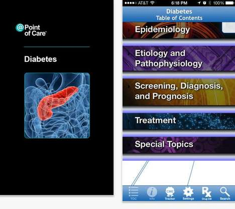Diabetes Education Apps - The Diabetes Point of Care Platform Shares Tips and Treatment Options