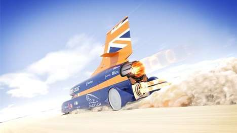 Brutally Fast Cars - The Bloodhound Project's Car Could One Day Hit 1,000 Miles Per Hour