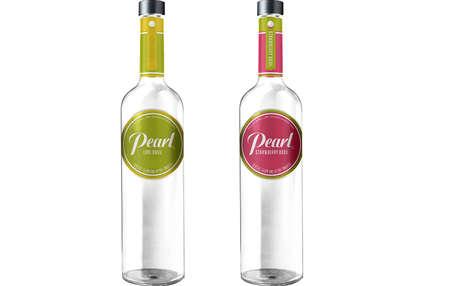 Herbal Fruit Vodka - Pearl Vodka's Newest Flavored Drinks Taste Like Lime and Strawberry Basil