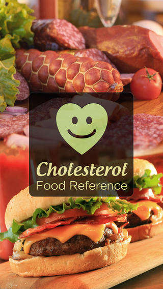 Mobile Cholesterol Monitors - The Cholesterol Food Reference App Helps Users Eat Healthy