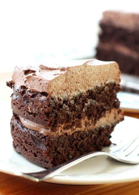 Chocolate Quinoa Desserts - This Quinoa Cake Recipe Uses Whole Grain Ingredients and Tastes the Same