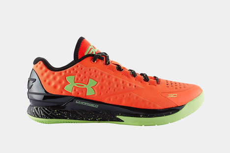 Celebrated Point Guard Kicks - The Under Armour Curry One Low Kicks Follow Steph Curry's NBA Title