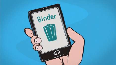 Painless Break-Up Apps - 'Binder' is a Break Up App That Does the Dumping for You