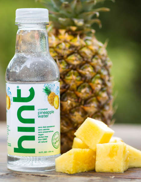 Lightly Flavored Waters - Hint's Sugar-Free Beverage is Subtle and Refreshing