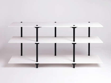 Optical Illusion Furniture - Studio Isabell Gatzen Designs a Collection Inspired by M.C. Escher