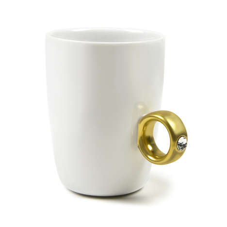 Engagement Ring-Styled Mugs - This 2-Carat Ring-Style Cup Romanticizes Coffee Drinking