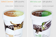 Superfood Ice Creams - This Healthy Ice Cream Contains Fewer Calories Than An Apple