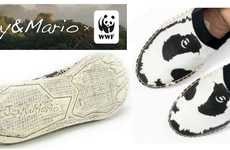Species-Protecting Footwear - 'Joy & Mario' and WWF Launched a Footwear Campaign to Protect Animals