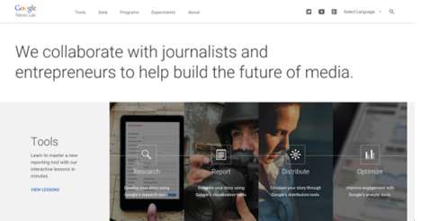 Journalist-Collaborating Search Engines - Google News Lab Wants to Help Map Out the Future of Media