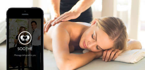 Massage Delivery Apps - This Massage App Brings a Certified Massuses Directy to You in Under 1 Hour