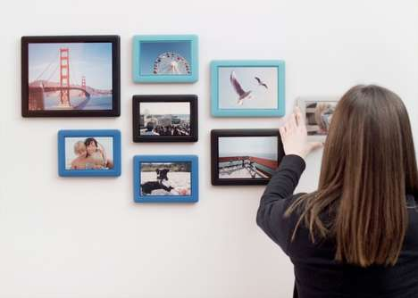 Hassle-Free Picture Frames - This Clever Photo Framing System Requires No Hammers, Hooks or Levels